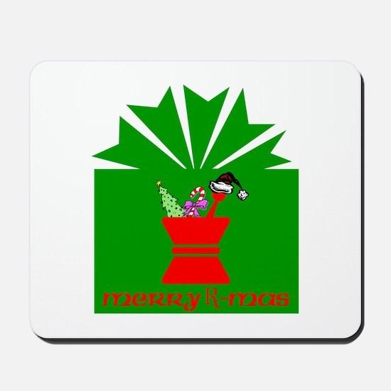 Merry Rx-mas Mousepad
