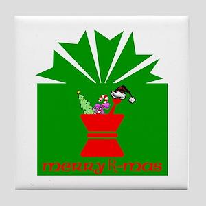 Merry Rx-mas Tile Coaster