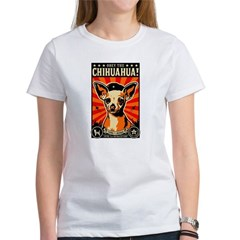 Obey the Chihuahua! 2-sided Women's T-Shirt