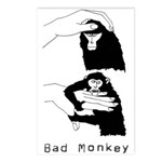 Monkey Day good/bad Postcards (Package o