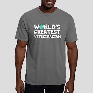 World's Greatest Veterinarian Mens Comfort Col