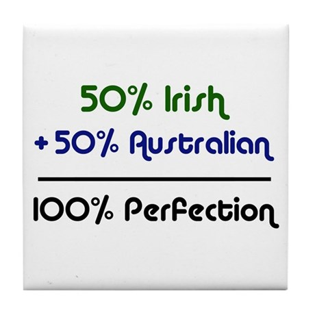 Australian & Irish Tile Coaster