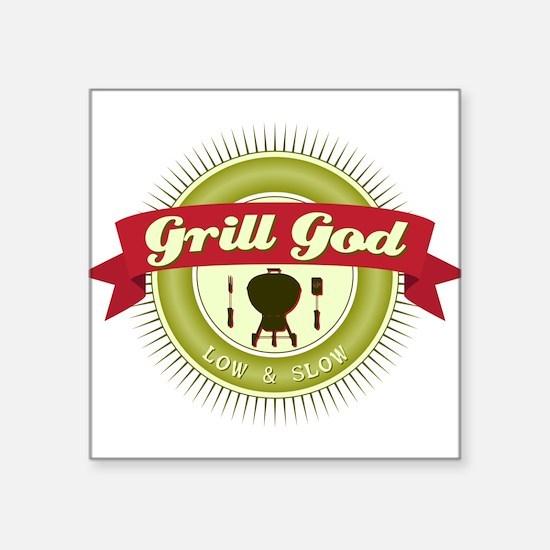 Grill God Sticker