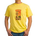 Fuldamobil Classic logo Yellow T-Shirt