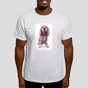 Cocker Cocky Ash Grey T-Shirt