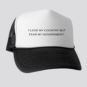 I Love My Country Trucker Hat