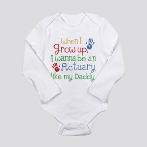 Actuary Like My Daddy Body Suit