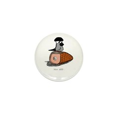 Gramps on Ham Mini Button (100 pack)