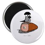 Gramps on Ham Magnet