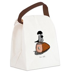 Gramps on Ham Canvas Lunch Bag