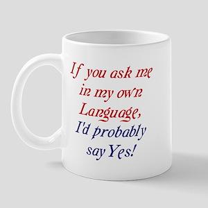 The English Mug