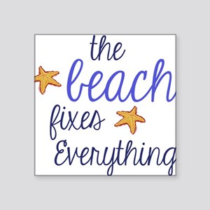 The Beach Fixes Everything Sticker