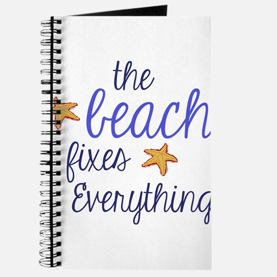 The Beach Fixes Everything Journal