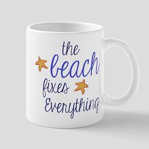 The Beach Fixes Everything Mug