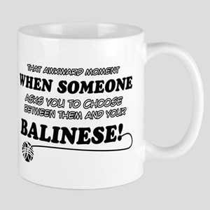 Balinese cat gifts Mug