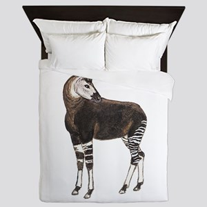 Okapi Queen Duvet