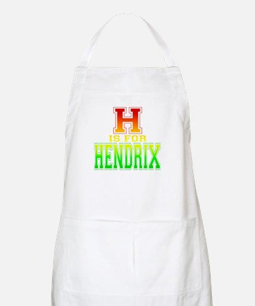 H is for Hendrix BBQ Apron