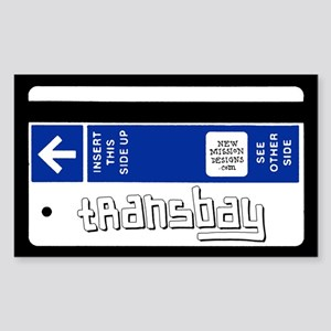 Transbay Rectangle Sticker