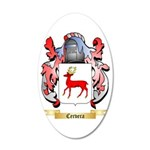 Cervera 35x21 Oval Wall Decal