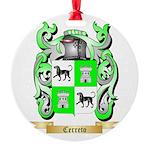 Cerreto Round Ornament