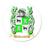 Cerreto Round Car Magnet