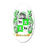 Cerreto 35x21 Oval Wall Decal