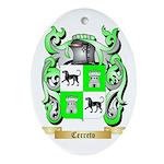 Cerreto Ornament (Oval)