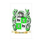 Cerreti Sticker (Rectangle 10 pk)