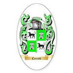 Cerreti Sticker (Oval)