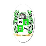 Cerreti 35x21 Oval Wall Decal