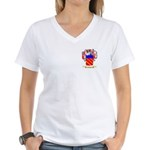 Cerezo Women's V-Neck T-Shirt