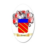 Cerezo 35x21 Oval Wall Decal
