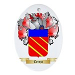 Cerezo Ornament (Oval)