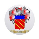 Cerezo Ornament (Round)