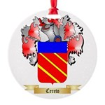 Cereto Round Ornament