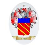 Cereto Ornament (Oval)