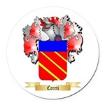 Cereti Round Car Magnet