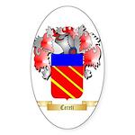 Cereti Sticker (Oval 10 pk)