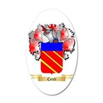 Cereti 20x12 Oval Wall Decal