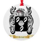 Celon Round Ornament