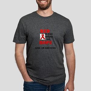 aids awareness month Mens Tri-blend T-Shirt