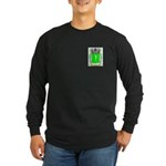 Cedilla Long Sleeve Dark T-Shirt