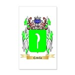 Cedilla 20x12 Wall Decal