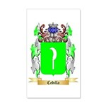 Cedilla 35x21 Wall Decal