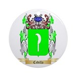 Cedilla Ornament (Round)