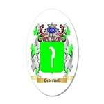 Cederwall 35x21 Oval Wall Decal
