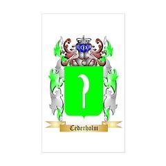 Cederholm Sticker (Rectangle)