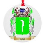Ceder Round Ornament