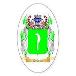 Cedeno Sticker (Oval)