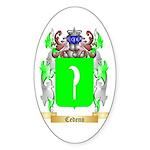 Cedeno Sticker (Oval 10 pk)